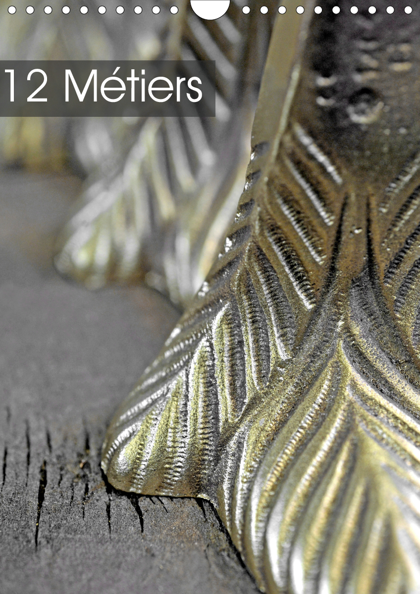 12 METIERS (CALENDRIER MURAL 2020 DIN A4 VERTICAL) - MATIERES ET OBJETS DE DOUZE METIERS D'ART. (CAL