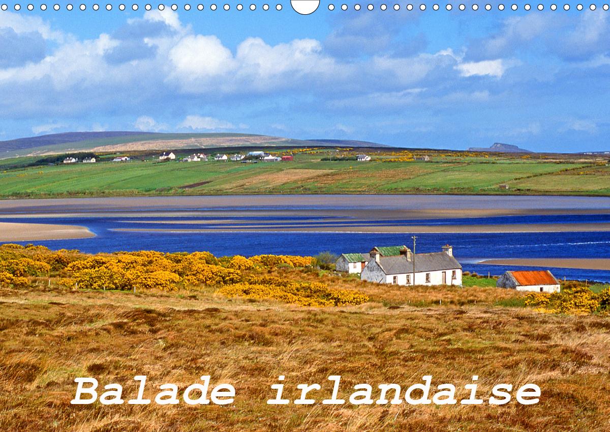 BALADE IRLANDAISE (CALENDRIER MURAL 2020 DIN A3 HORIZONTAL) - BALADE PHOTOGRAPHIQUE EN IRLANDE (CALE