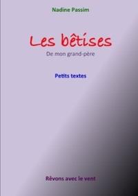 04 01 LES BETISES DE MON GRAND-PERE