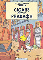 LES CIGARES DE PHARAON (EGMONT ANGLAIS) - CIGARS OF THE PHARAOH