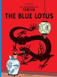 LOTUS BLEU (EGMONT ANGLAIS) - THE BLUE LOTUS