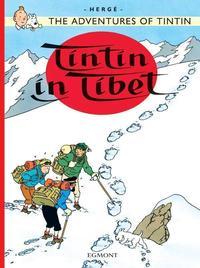 TINTIN AU TIBET (EGMONT ANGLAIS) - TINTIN IN TIBET