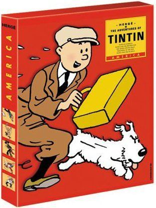TINTIN FIVE-COPY SLIPCASE