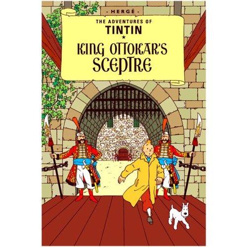 TINTIN KING OTTOKAR'S SCEPTRE