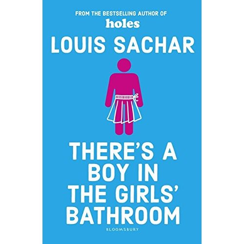 There is a boy in girl s bathroom