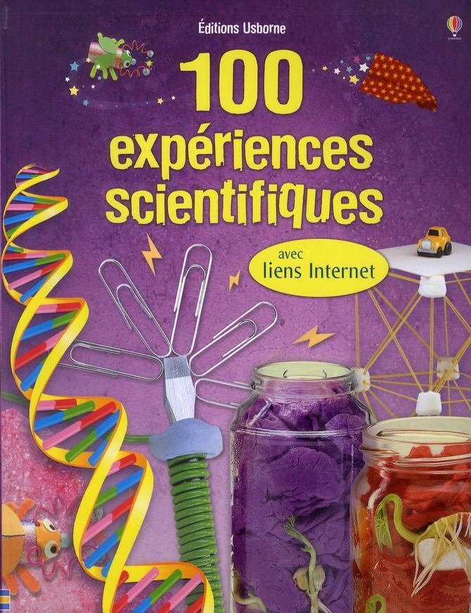 100 EXPERIENCES SCIENTIFIQUES