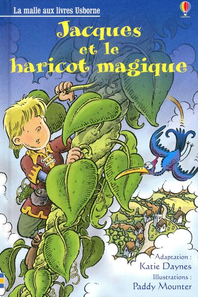JACQUES ET LE HARICOT MAGIQUE - LA MALLE AUX LIVRES NIVEAU 2