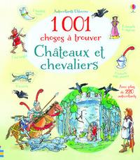 1001 CHOSES A TROUVER CHATEAUX ET CHEVALIERS - AUTOCOLLANTS USBORNE