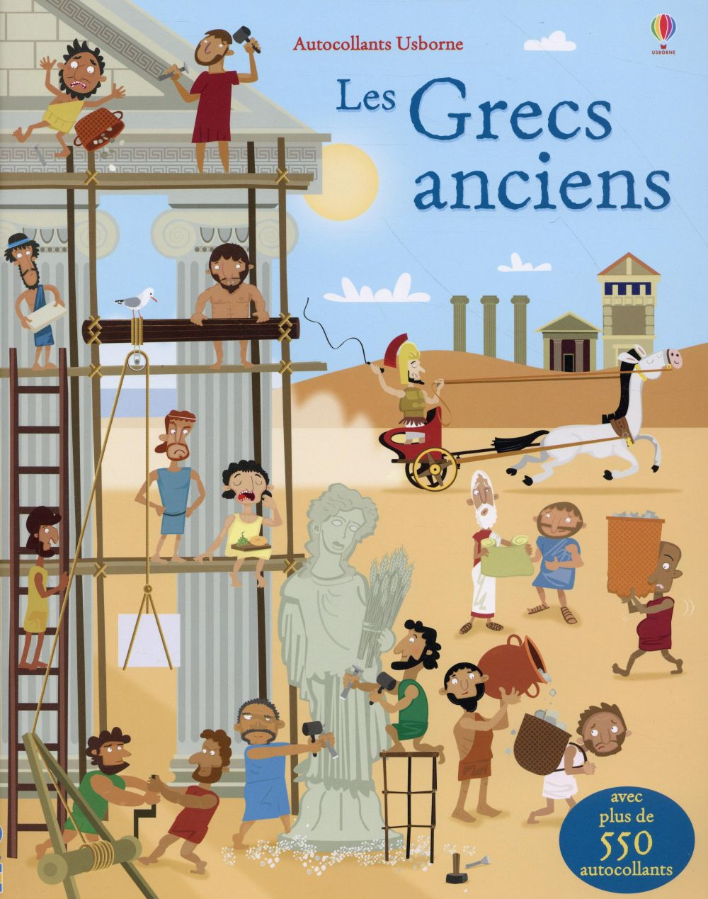 LES GRECS ANCIENS - AUTOCOLLANTS USBORNE
