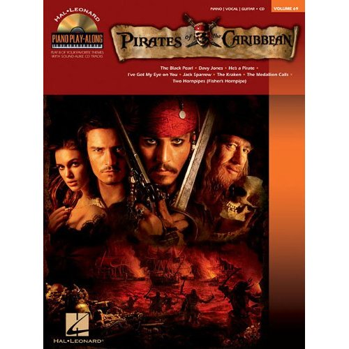 PIRATES OF THE CARIBBEAN PIANO +CD