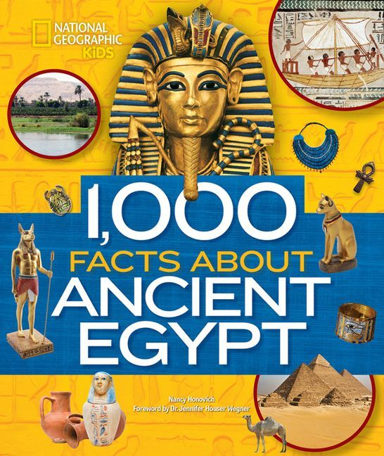 1000 FACTS ABOUT ANCIENT EGYPT /ANGLAIS