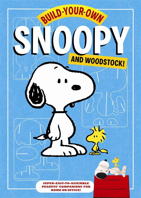 BUILD YOUR OWN SNOOPY AND WOODSTOCK