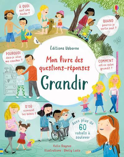 GRANDIR - MON LIVRE DES QUESTIONS-REPONSES