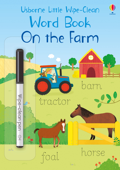 ON THE FARM - LITTLE WIPE-CLEAN WORD BOOKS