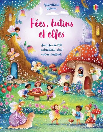 FEES, LUTINS ET ELFES - AUTOCOLLANTS USBORNE