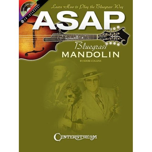 ASAP BLUEGRASS MANDOLIN  +CD