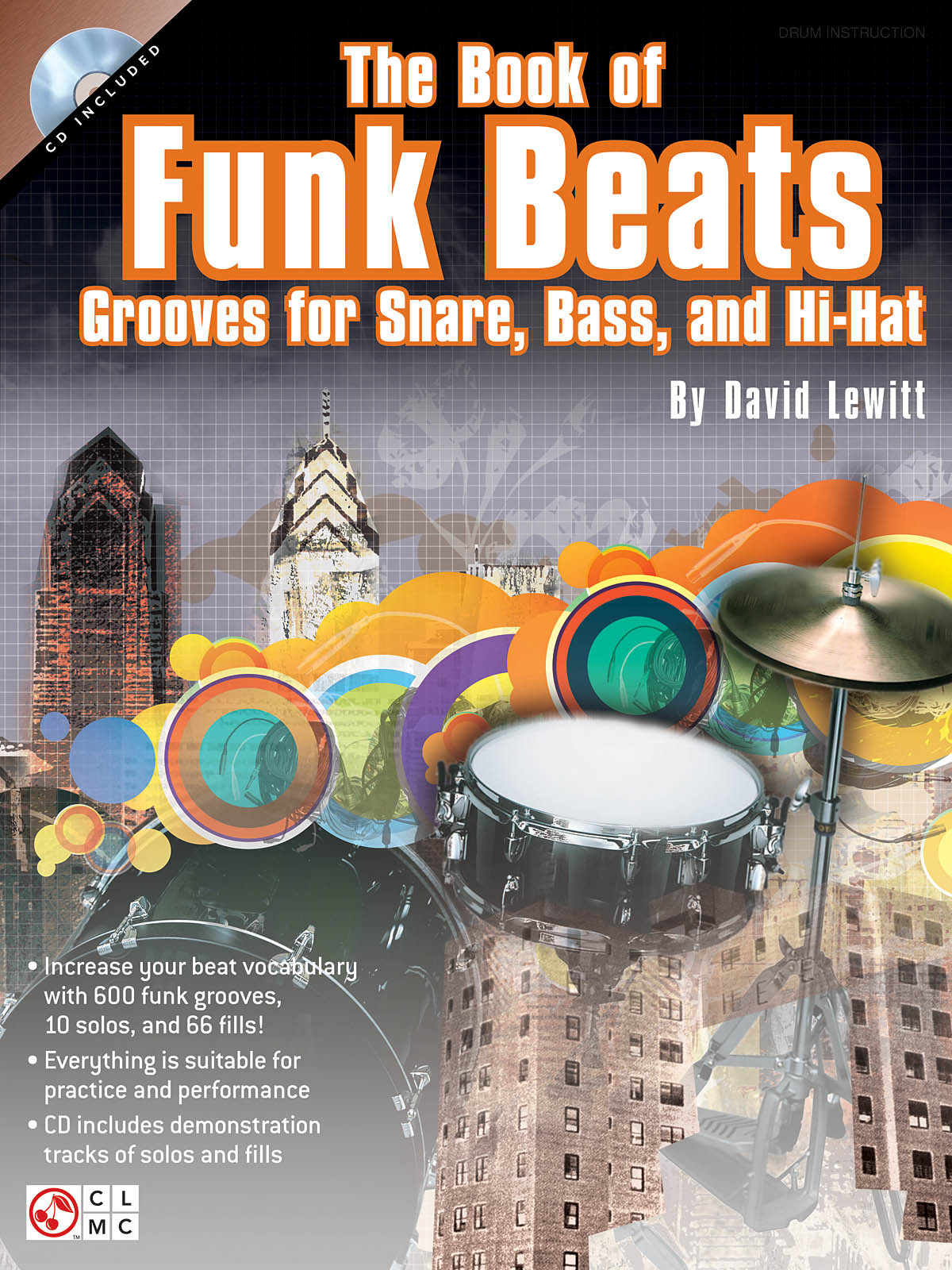 THE BOOK OF FUNK BEATS BATTERIE +CD