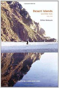 GILLES DELEUZE DESERT ISLANDS /ANGLAIS