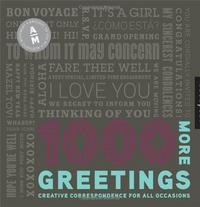 1000 MORE GREETINGS /ANGLAIS