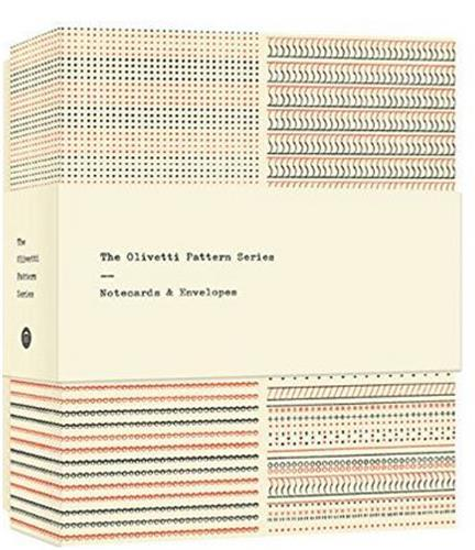 THE OLIVETTI PATTERN SERIES NOTECARDS /ANGLAIS