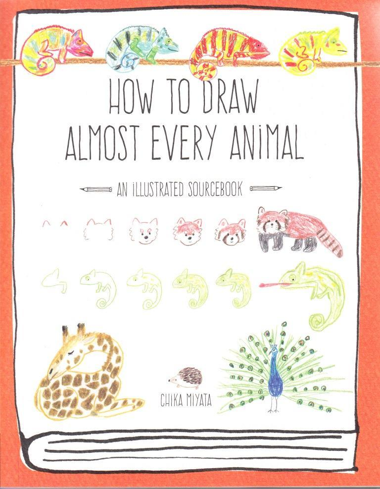 HOW TO DRAW ALMOST EVERY ANIMAL /ANGLAIS