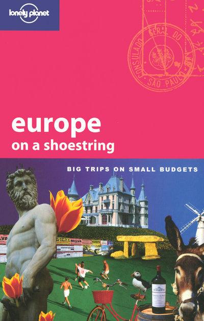 EUROPE ON A SHOESTRING 5ED -ANGLAIS-