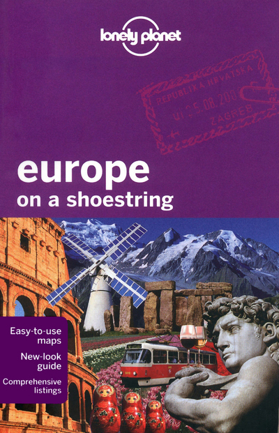 EUROPE ON A SHOESTRING 7ED -ANGLAIS-