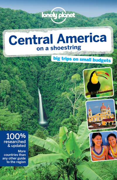 CENTRAL AMERICA ON A SHOESTRING 8ED -ANGLAIS-