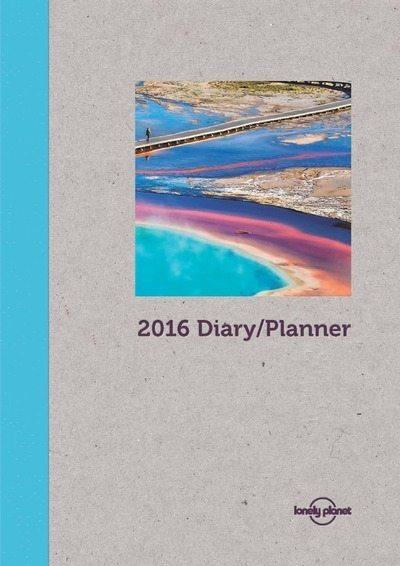 LONELY PLANET DAY PLANNER 2016 -ANGLAIS-