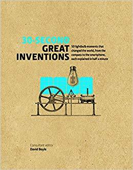 30 SECOND GREAT INVENTIONS /ANGLAIS
