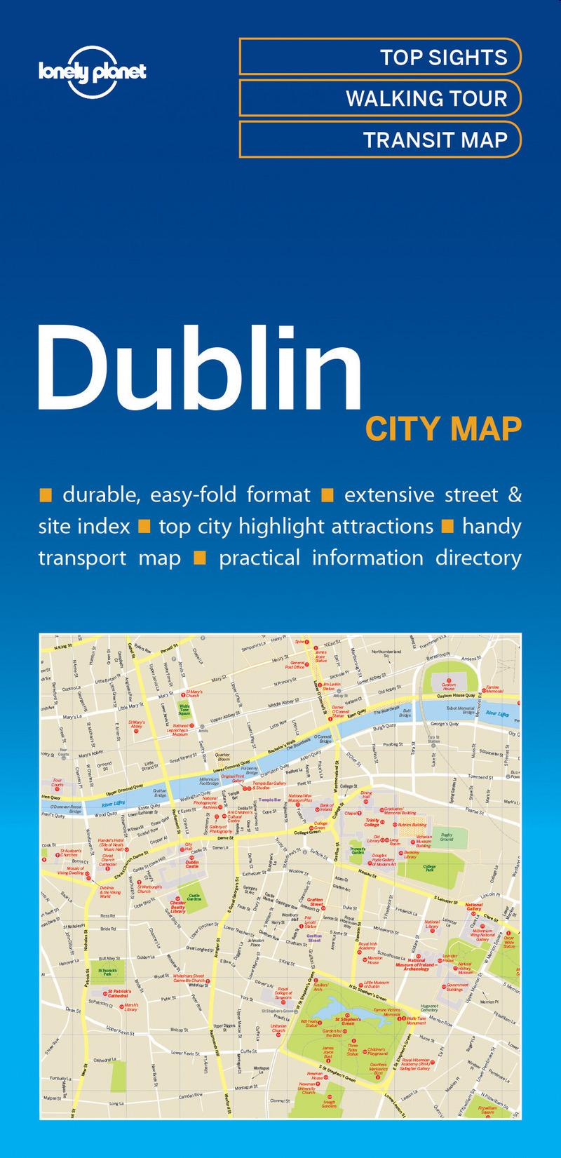 DUBLIN CITY MAP 1ED -ANGLAIS-