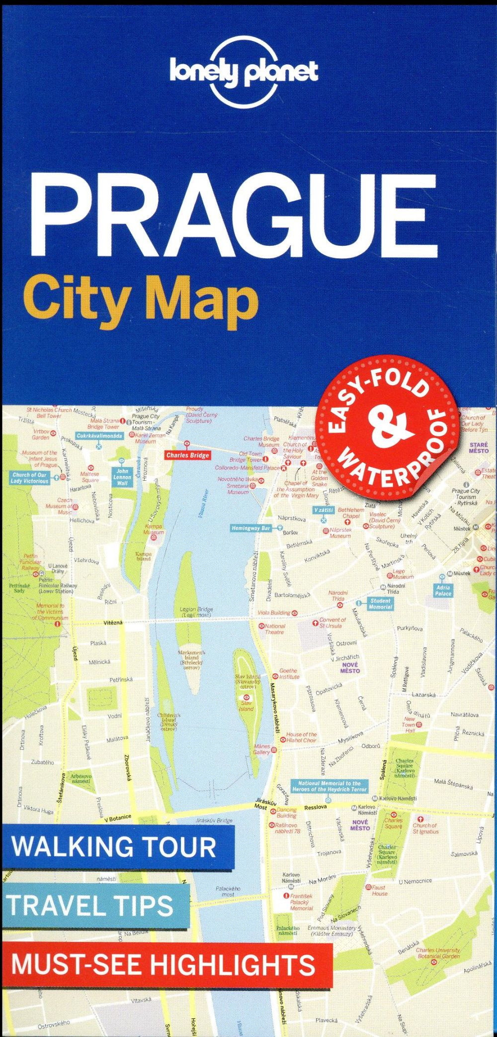 PRAGUE CITY MAP 1ED -ANGLAIS-