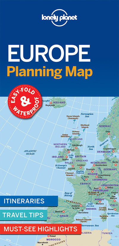 EUROPE PLANNING MAP 1ED -ANGLAIS-