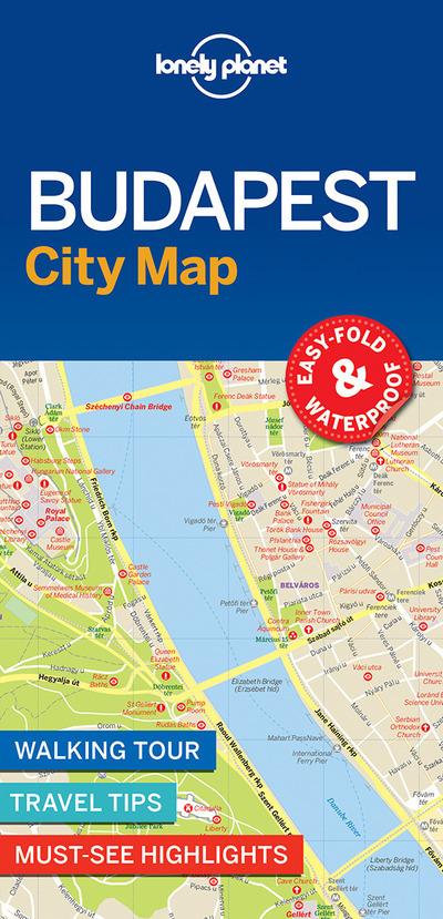 BUDAPEST CITY MAP 1ED -ANGLAIS-