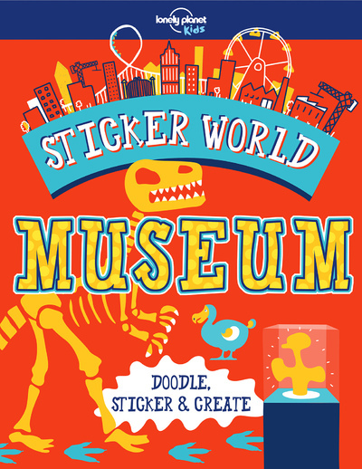 STICKER WORLD - MUSEUM 1ED -ANGLAIS-