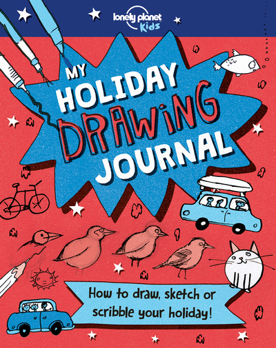 MY HOLIDAY DRAWING BOOK 1ED -ANGLAIS-