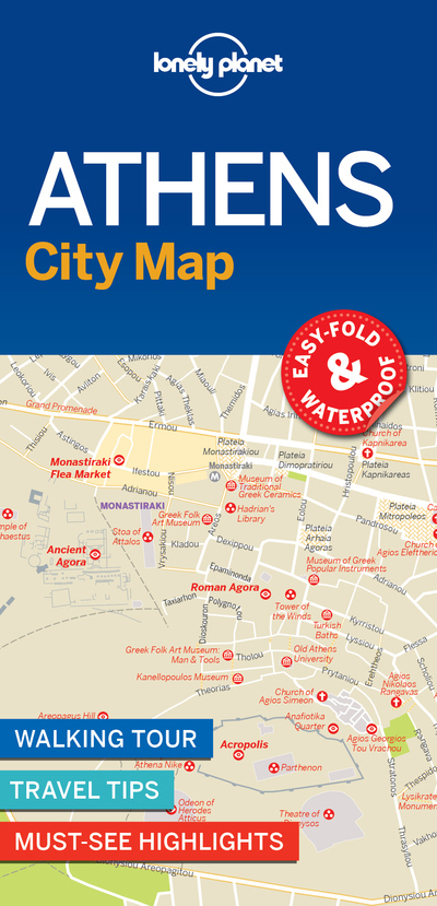 ATHENS CITY MAP 1ED -ANGLAIS-