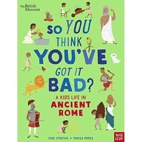 Kids in ancient rome