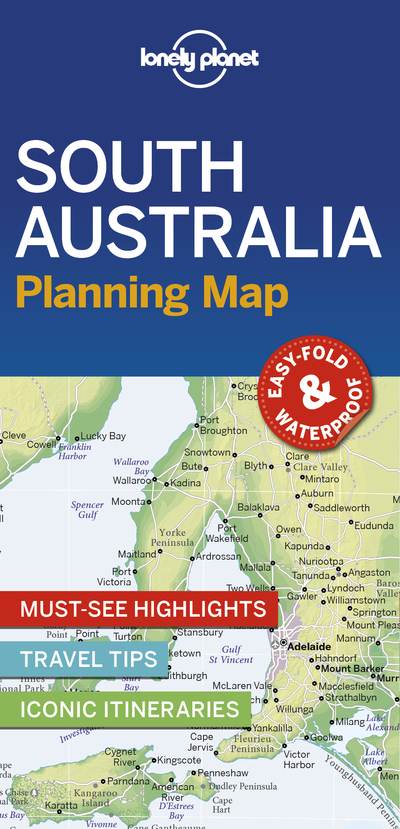 SOUTH AUSTRALIA PLANNING MAP 1ED -ANGLAIS-