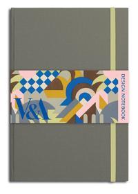 V&A DESIGN NOTEBOOK CONSTABLE GREY /ANGLAIS