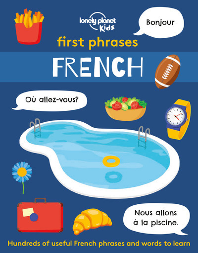 FIRST PHRASES - FRENCH 1ED -ANGLAIS-