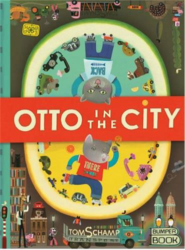 OTTO IN THE CITY /ANGLAIS