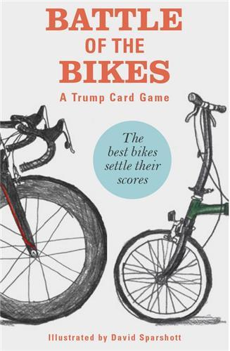 BATTLE OF THE BIKES - A TRUMP CARD GAME /ANGLAIS