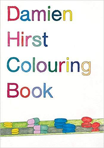 DAMIEN HIRST COLORING BOOK /ANGLAIS