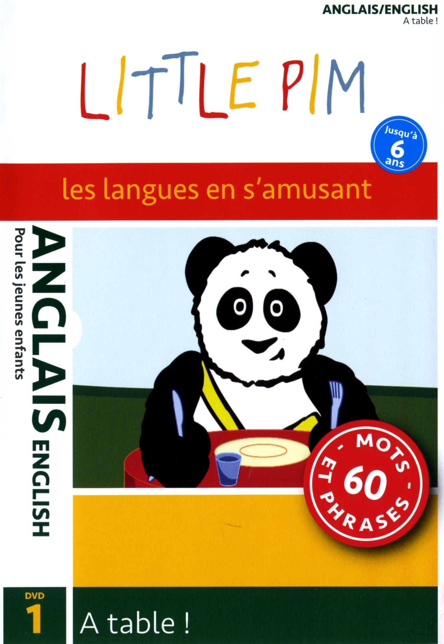 LITTLE PIM : A TABLE VOL1- DVD