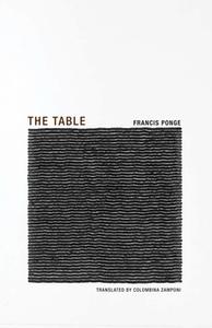 FRANCIS PONGE THE TABLE /ANGLAIS