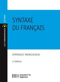 SYNTAXE DU FRANCAIS