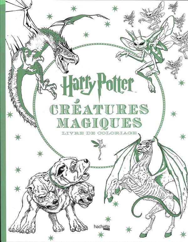 Harry potter creatures magiques - livre de coloriage