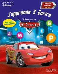 J'APPRENDS A ECRIRE AVEC CARS GS