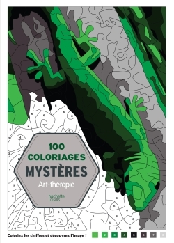 100 COLORIAGES MYSTERES - ART-THERAPIE